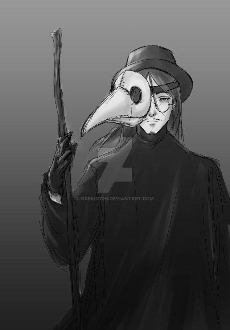 Plague Doctor by saekimchi 746x1070