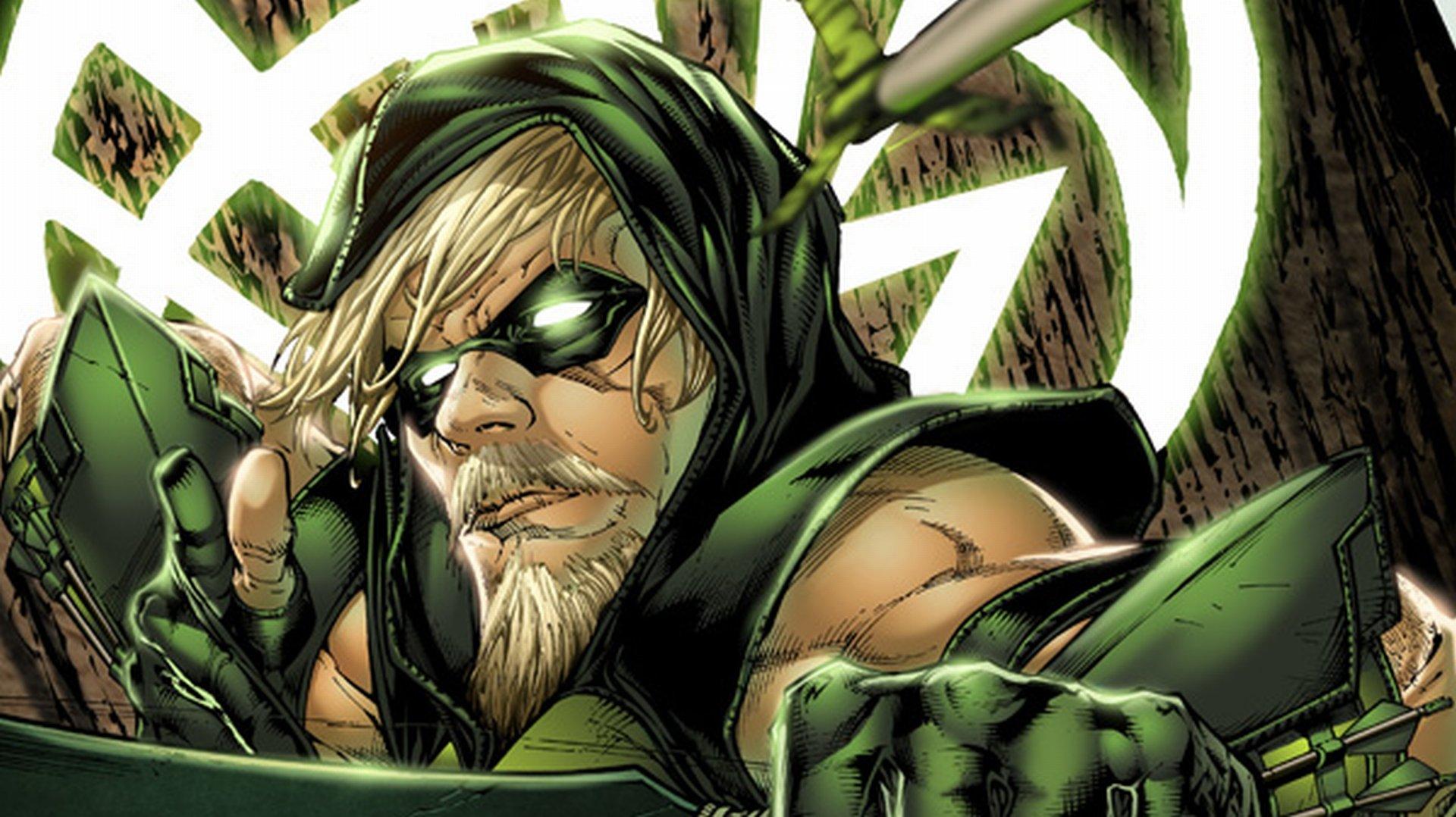 Green Arrow Cartoon 1920x1078