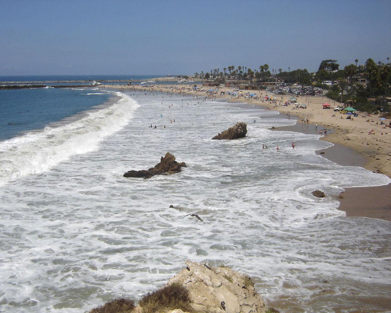 Corona Beach Wallpaper