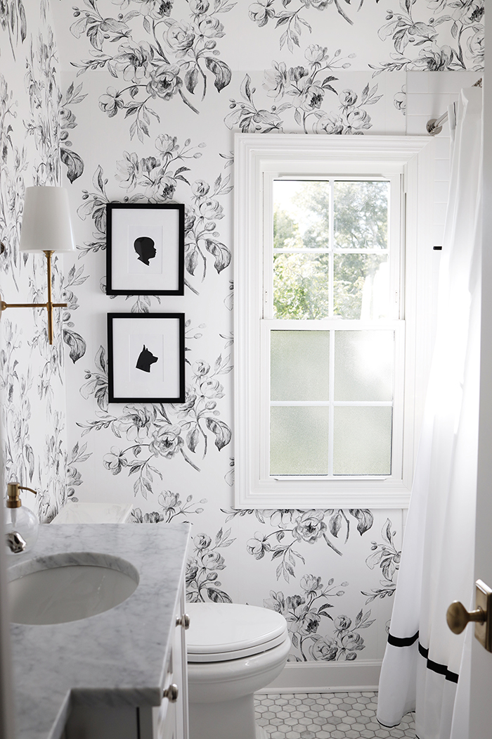 Free Download A Black And White Floral Bathroom Danielle Moss 700x1050 For Your Desktop Mobile Tablet Explore 22 Wallpaper Bathroom Bathroom Wallpapers Bathroom Wallpaper Bathroom Borders Wallpaper