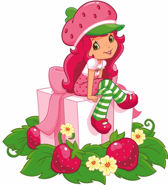 Strawberry Shortcake images Happy Holidays from Berry Bitty City 545x600