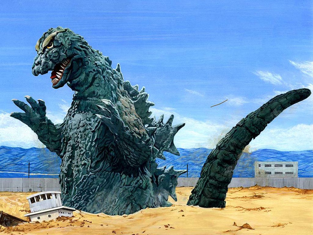 Movie   Godzilla 1954 Godzilla Wallpaper 1024x768