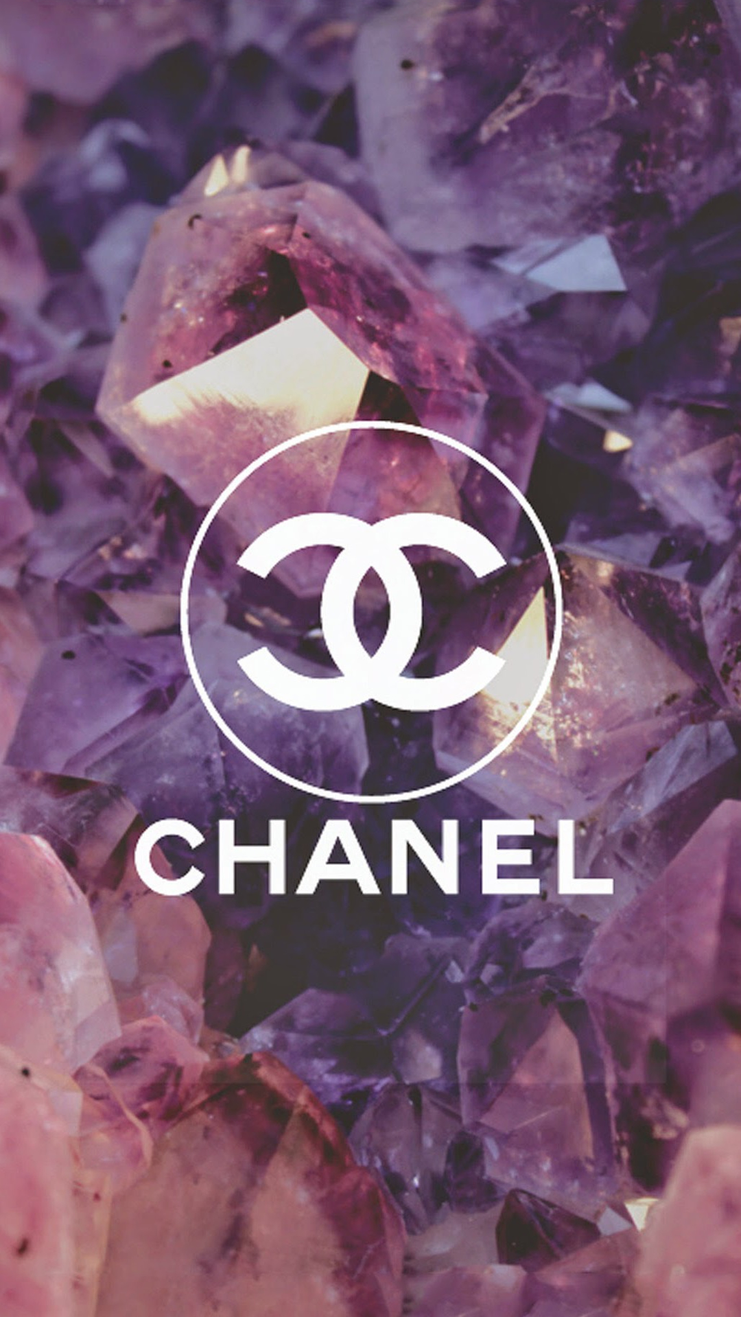 Coco Chanel Logo Diamonds iPhone 6 Wallpaper Download iPhone 1080x1920