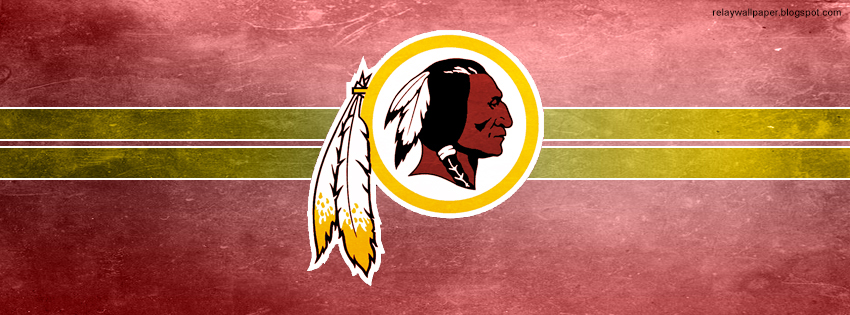 Washington Redskins Faceboook Covers Relay Wallpaper 850x315