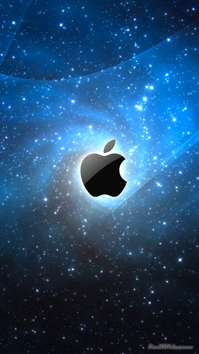 iPhone 5 Wallpaper 640X1136 Apple Blue Space iPhone 5 HD Wallpapers 640x1136