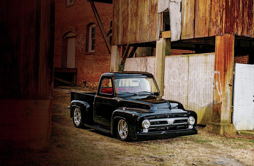 1953 Ford F100 Pickup Hotrod Hot Rod Street USA 2048x1360 01 1070x700