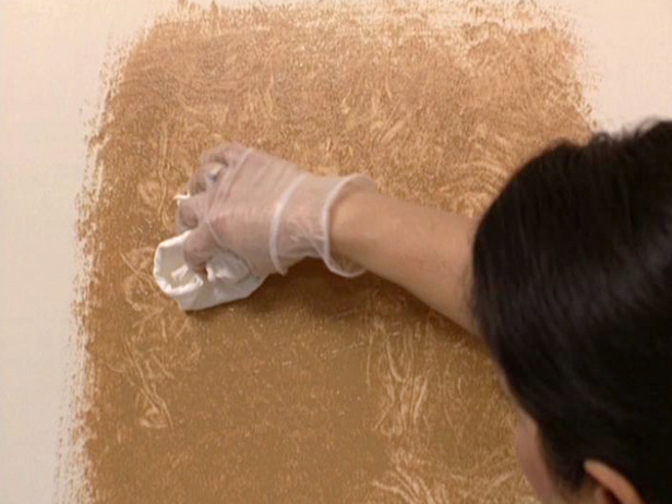 How to Give Walls a Faux Suede Look how tos DIY 616x462