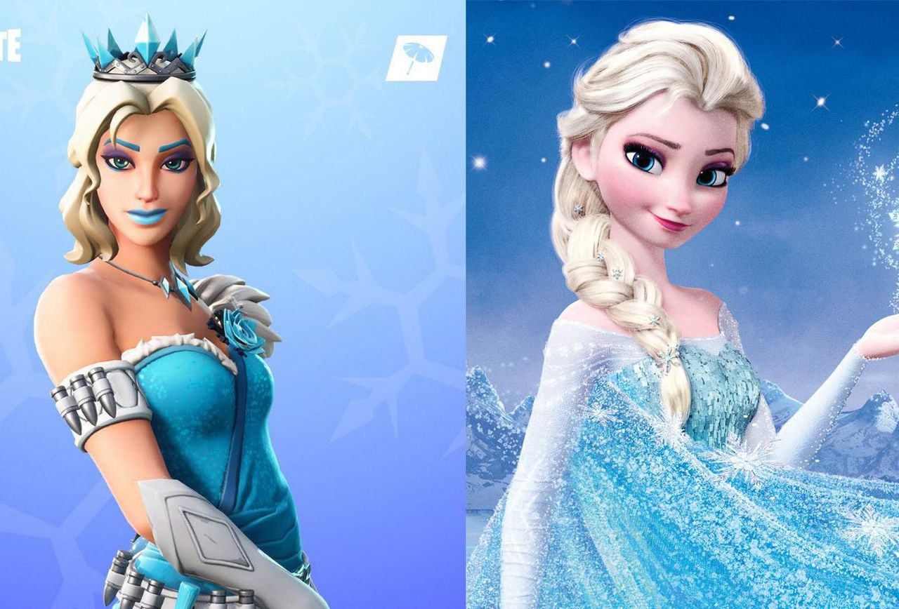 Fortnites Christmas Day Skin Is An Ice Queen That Is Definitely 1280x868