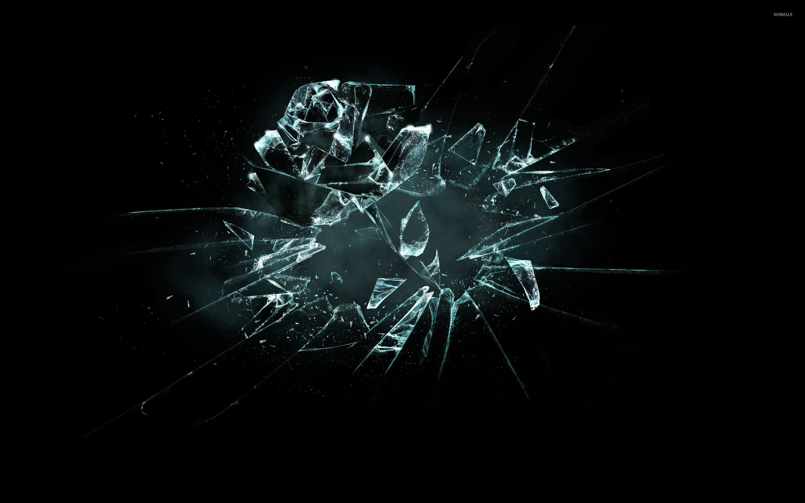 wallpaper xpx full view and download car glass broken wallpaper with 2560x1600