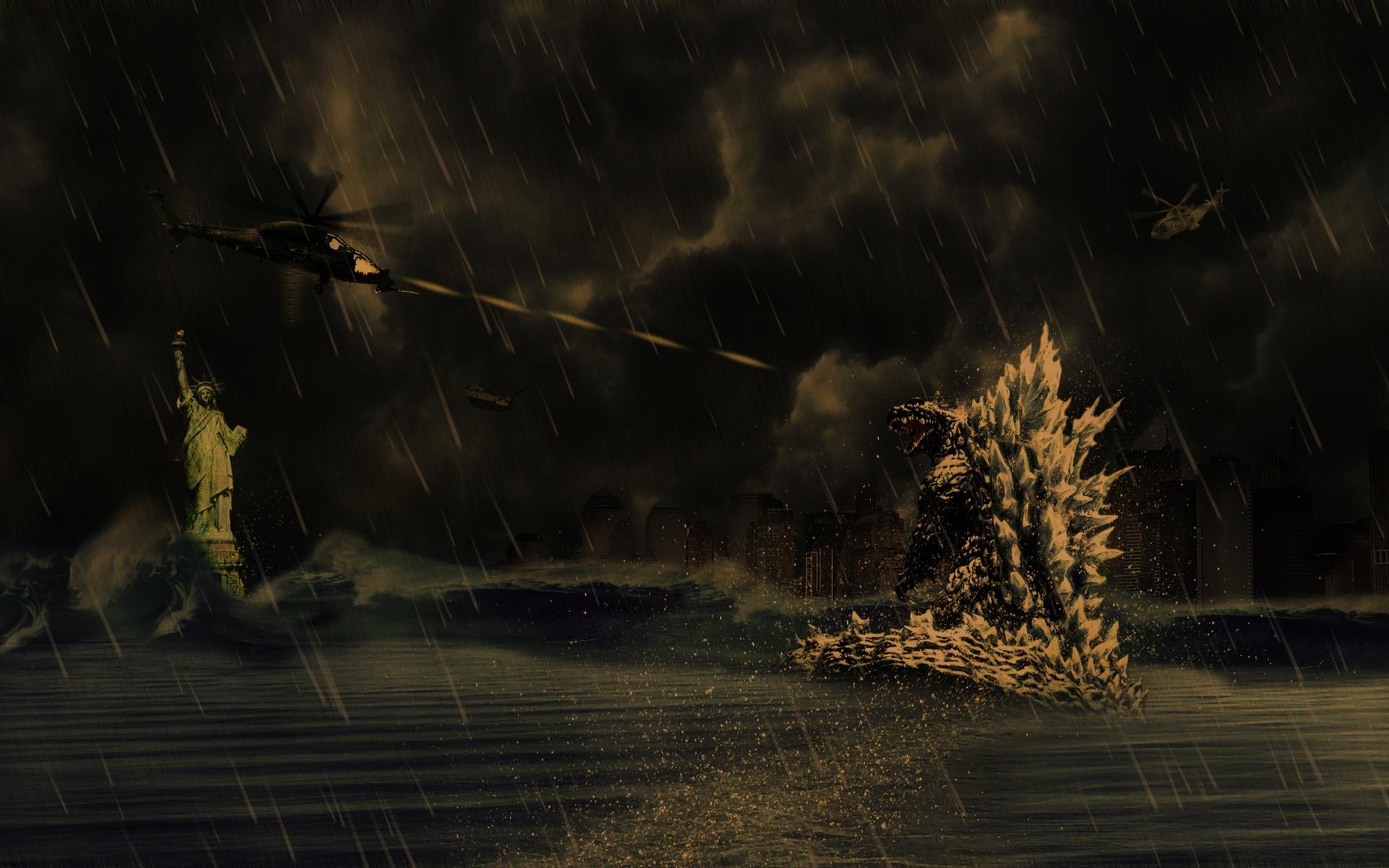 Godzilla Screensaver 1920x1200