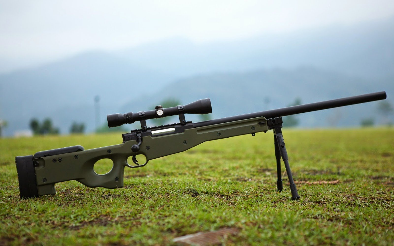 An other Angle of AWP Sniper Rifle Wallpapers I fall in love with 1600x1000
