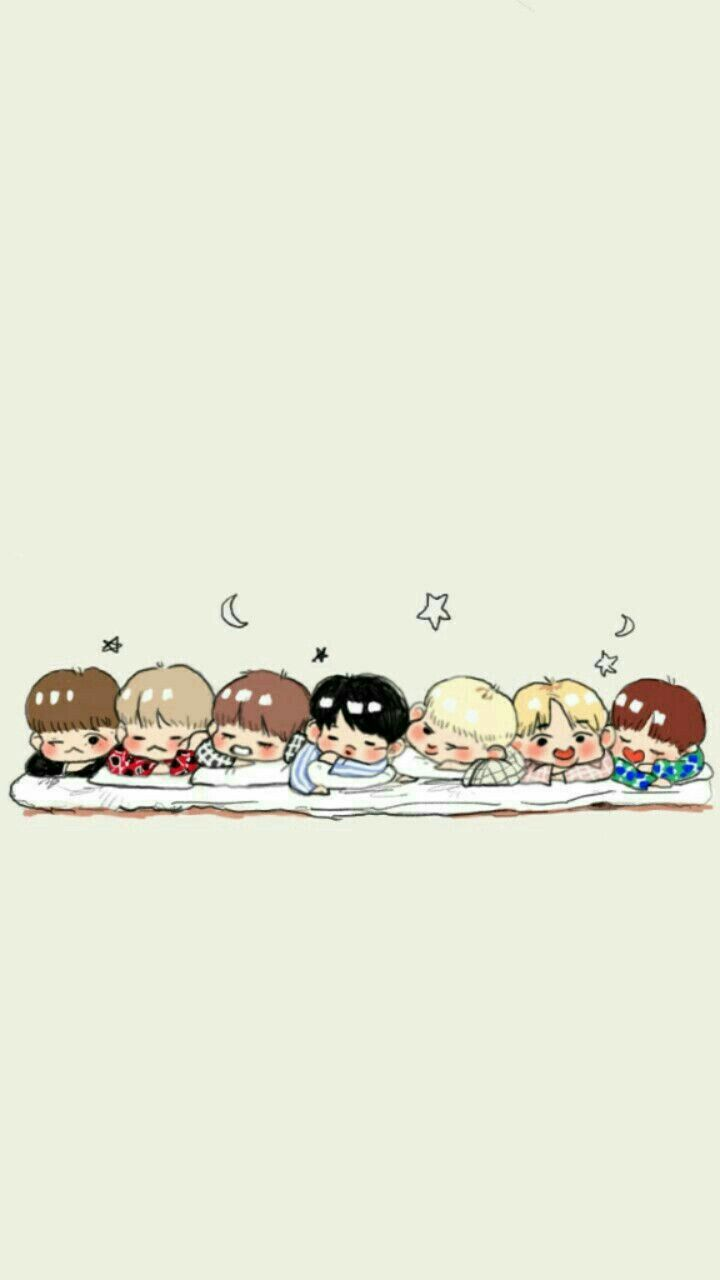 Who is who BTS Bts wallpaper Bts chibi BTS 720x1280