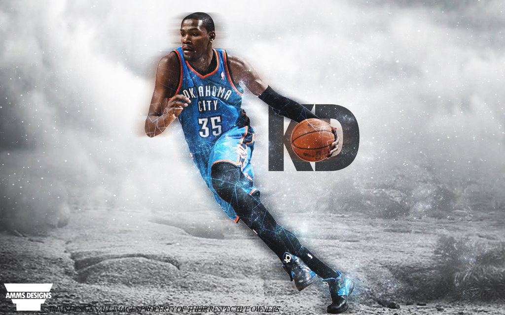Kevin Durant Game Day Poster by AMMSDesings 1024x640
