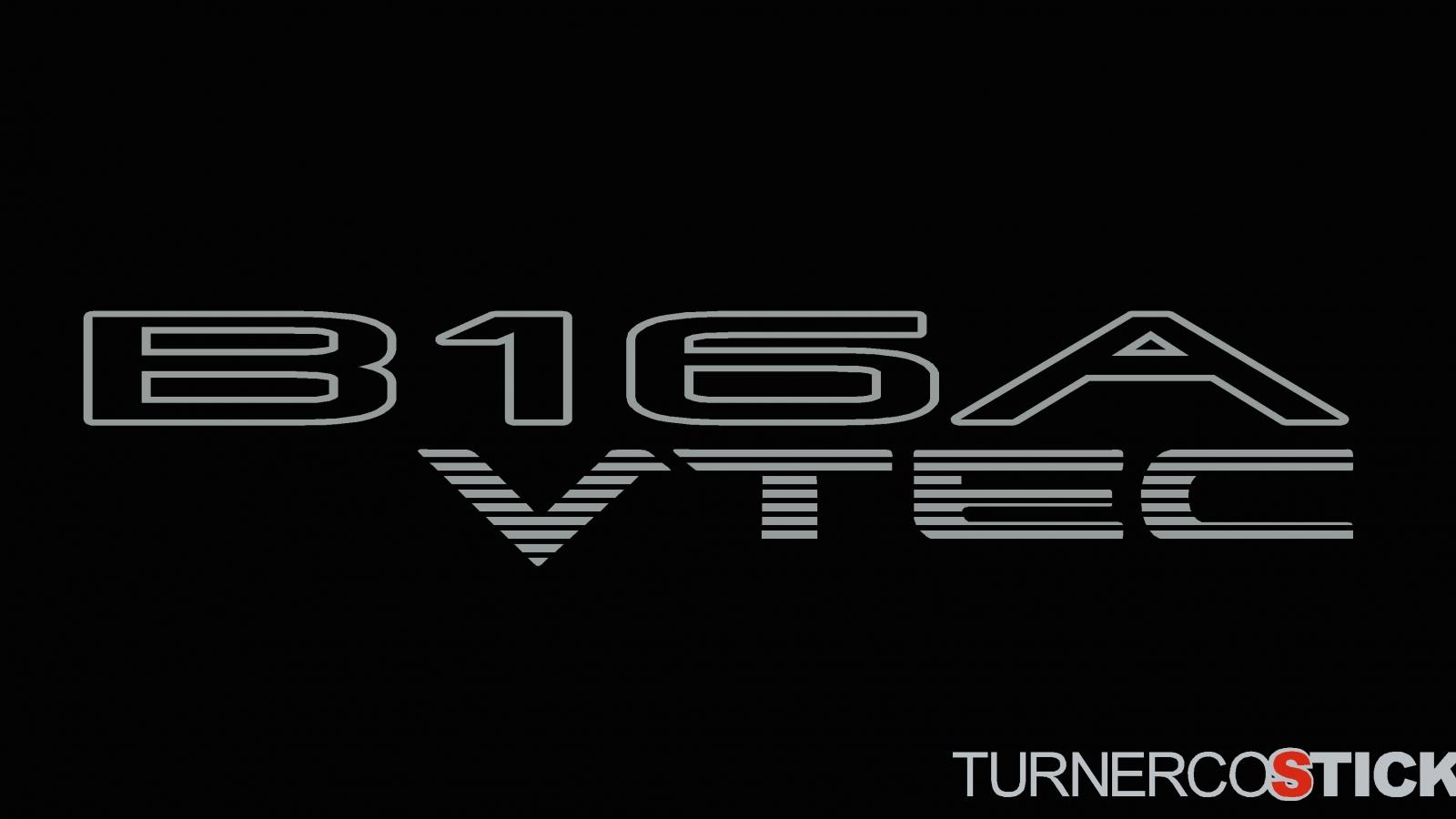 download 2x B16A VTEC honda stickers Decals For DOHC Honda 1600x900