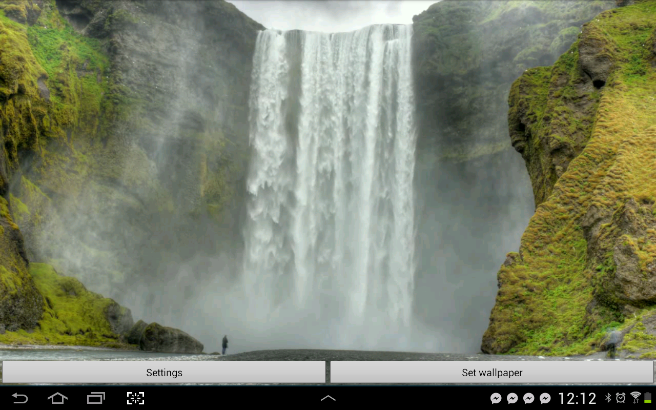 Waterfall Live Wallpapers HD   Android Apps on Google Play 1280x800