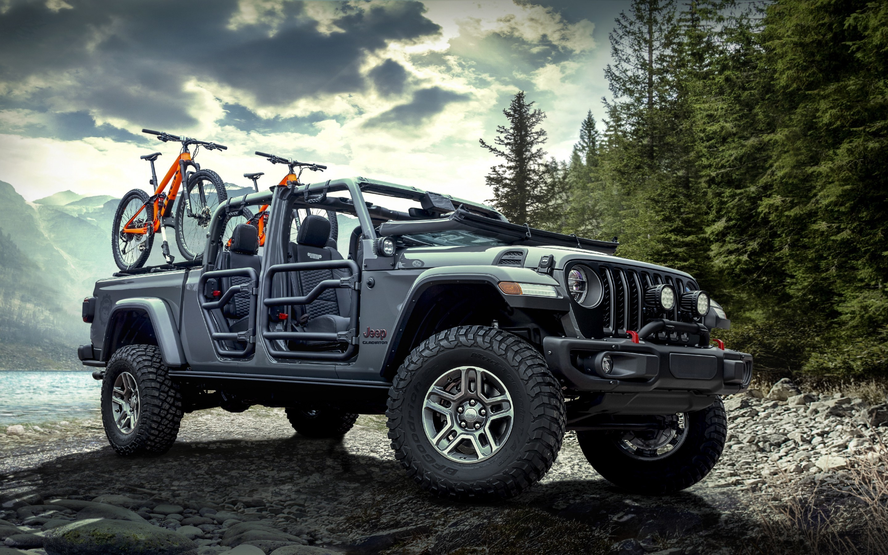 2020 UpComing Jeep Gladiator Rubicon Car HD Wallpapers 2880x1800