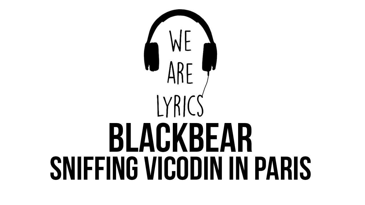 blackbear   Sniffing Vicodin In Paris Lyrics 1280x720
