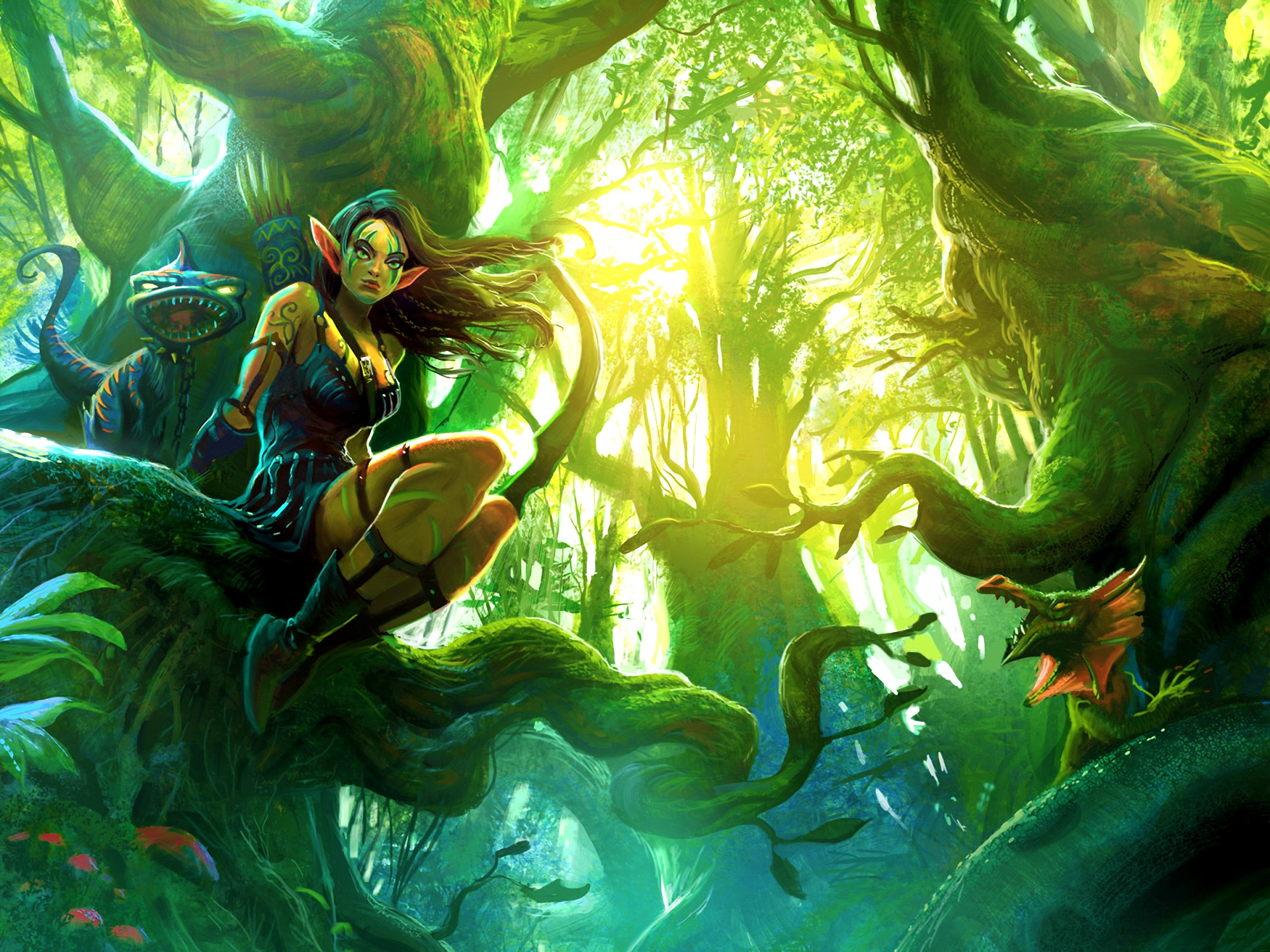 Elf   Fantasy Wallpaper 31530342 1920x1440