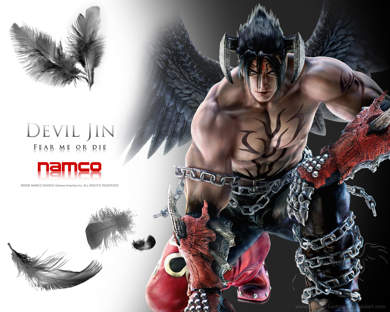 Free Download Devil Jin In Tekken 6 By Blood Huntress 1280x1024