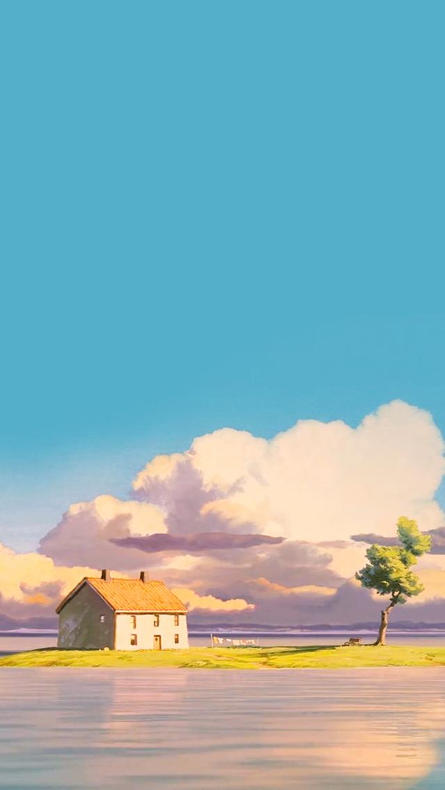 49 Studio Ghibli Wallpaper Iphone On Wallpapersafari
