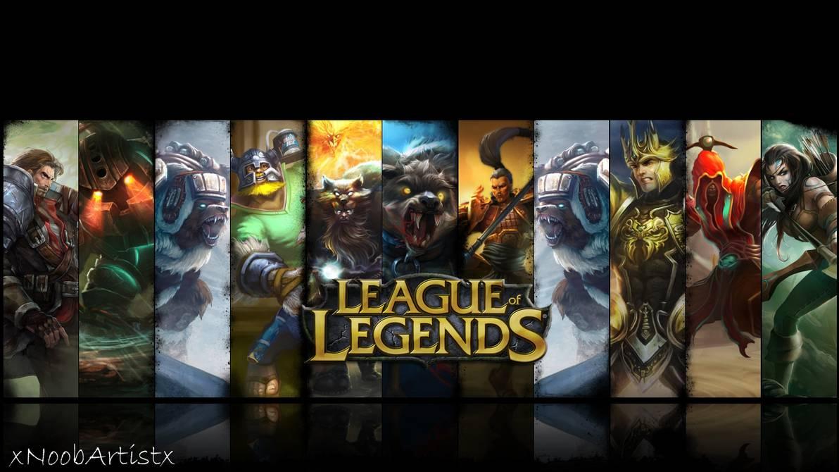 League of legends Personal wallpaper by xNoobArtistx 1192x670