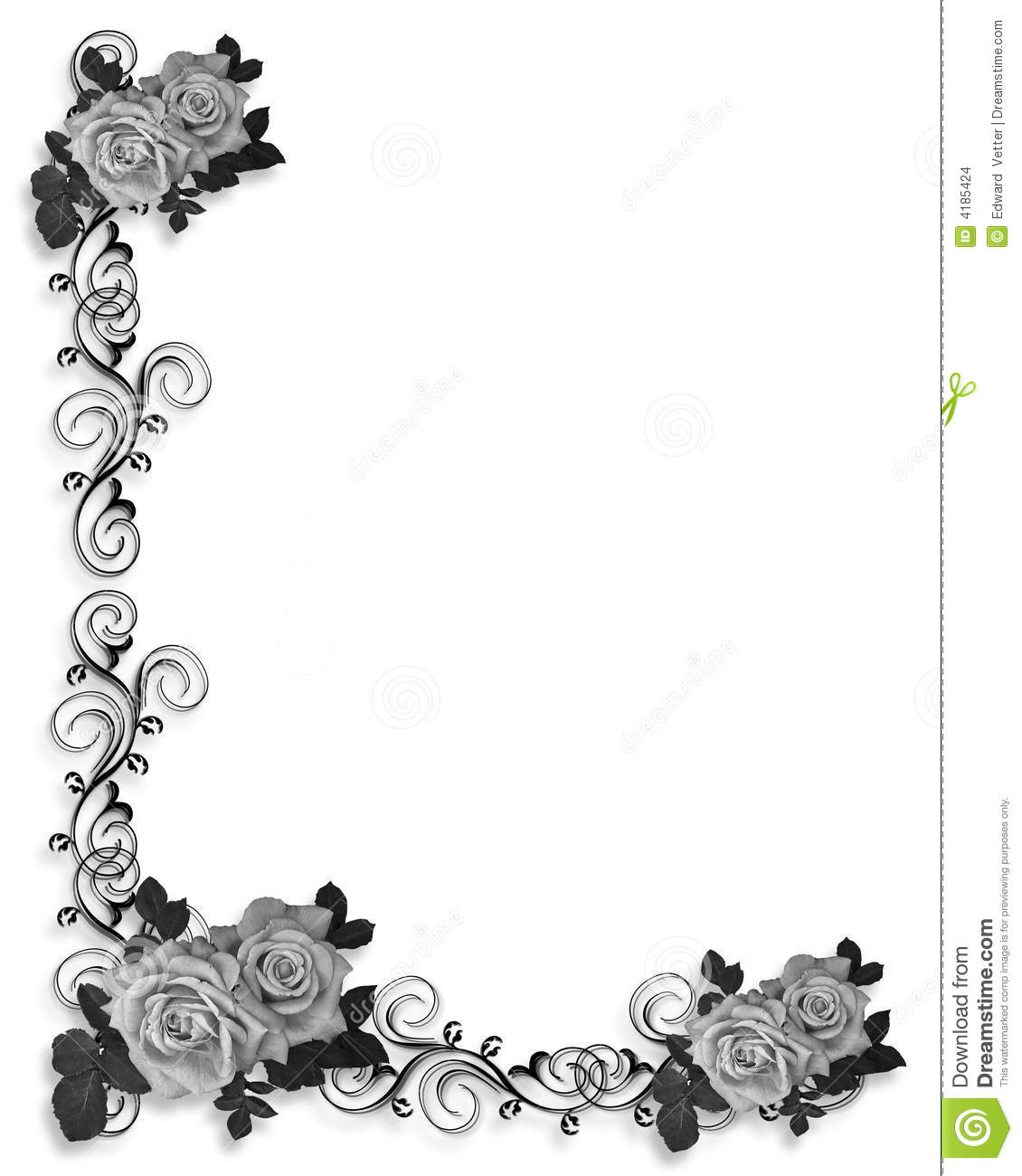 Border Designs Black And White 1130x1300