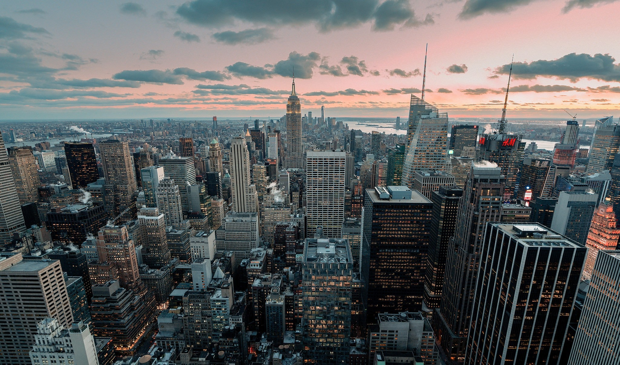 Man Made New York Cities United States USA City Cityscape Building 2048x1208