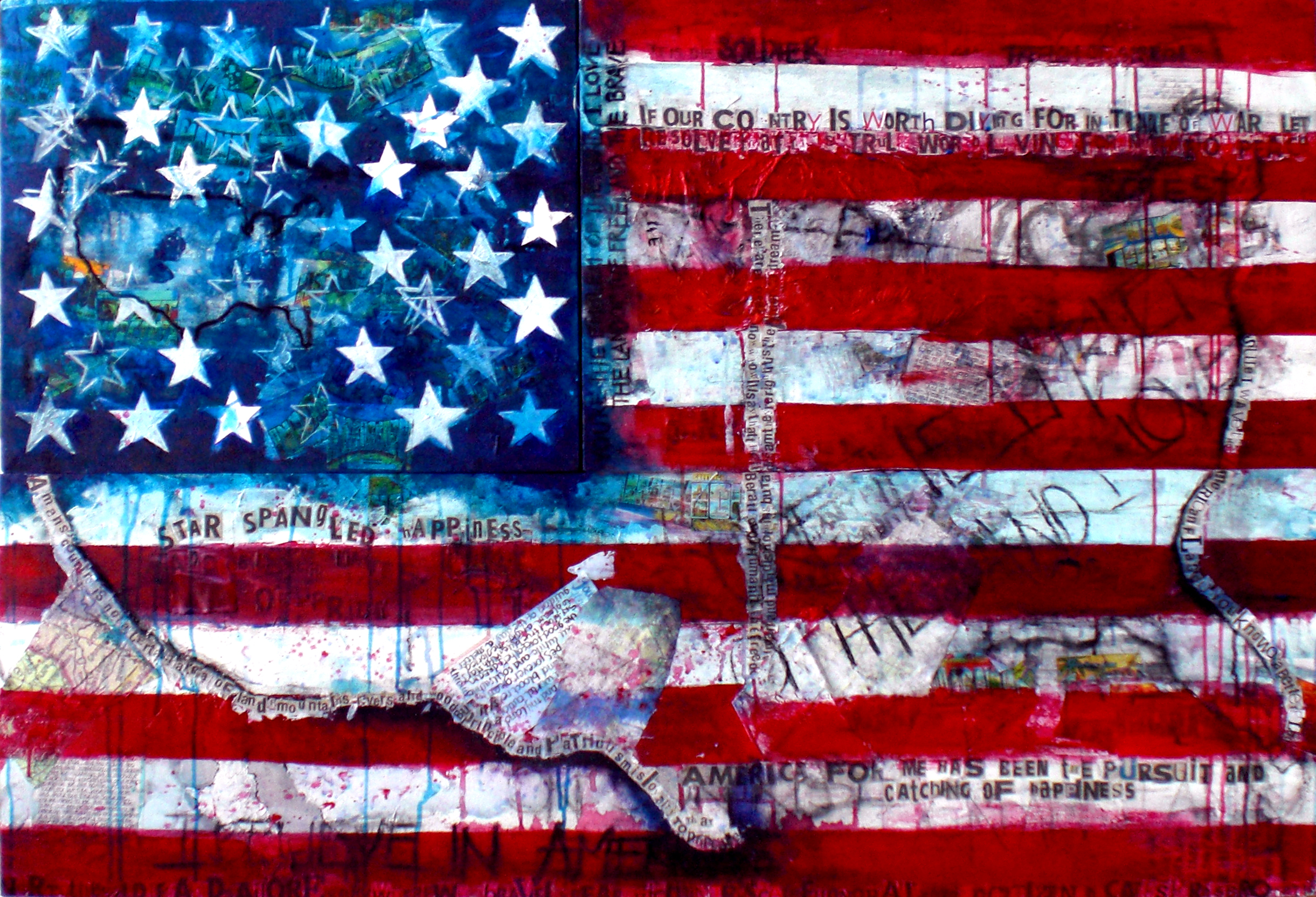 USA flag art backgrounds in high resolution for Get USA flag 2442x1665