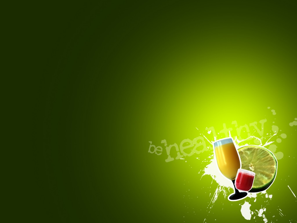 download Fruit drinks and health Background Wallpaper for 1024x768