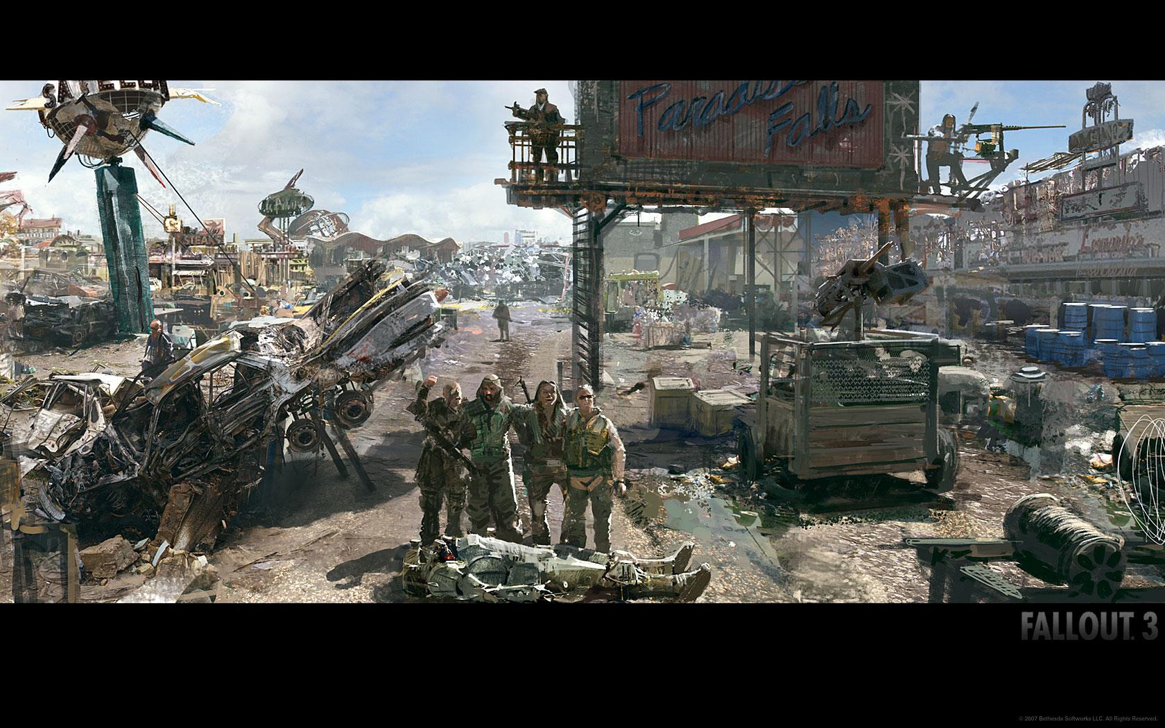Fallout 4 Concept Art Fallout concept art wallpaper 1680x1050