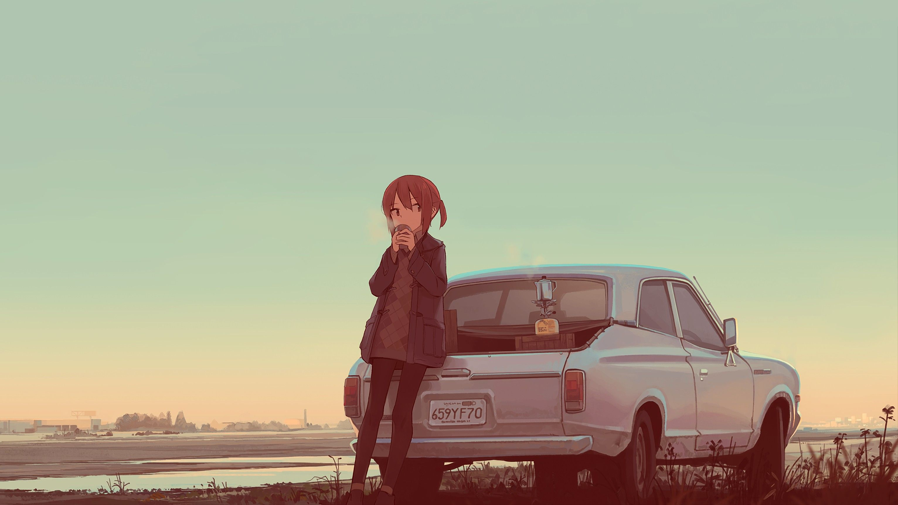 Car Anime Wallpapers   Top Car Anime Backgrounds 3064x1724