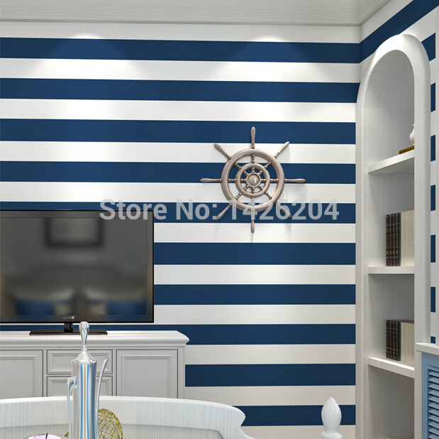 White Striped Wall Paper For Living Roomhorizontal Wallpaper 619x618