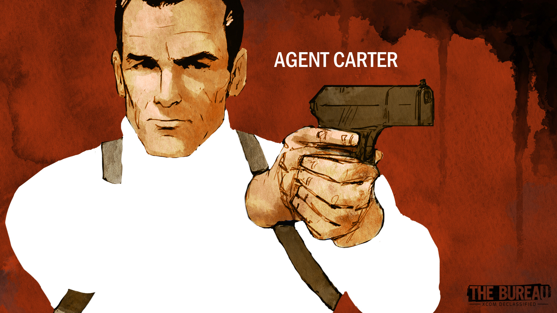 Agent William Carter Wallpaper from The Bureau XCOM Declassified 1920x1080