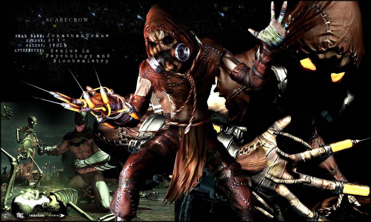 Scarecrow Arkham Wallpaper by Spitfire666xXxXx 1280x768