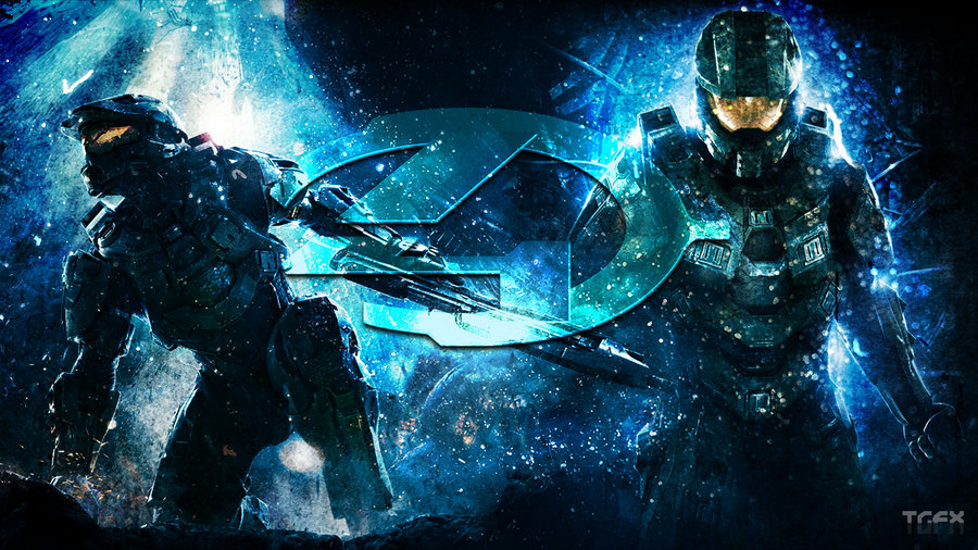 Halo 4 Desktop Wallpaper by TR1CKZGFX 900x506