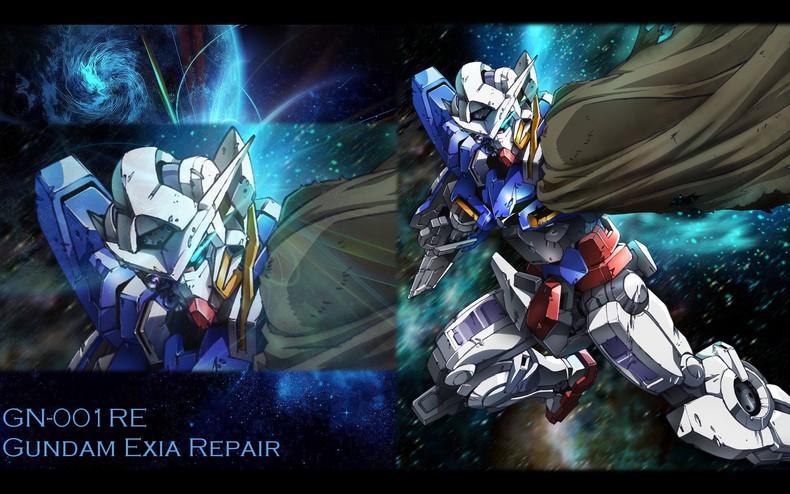 Gallery Mobile Suit Gundam 00 Wallpapers Gundam Exia Repair 790x494