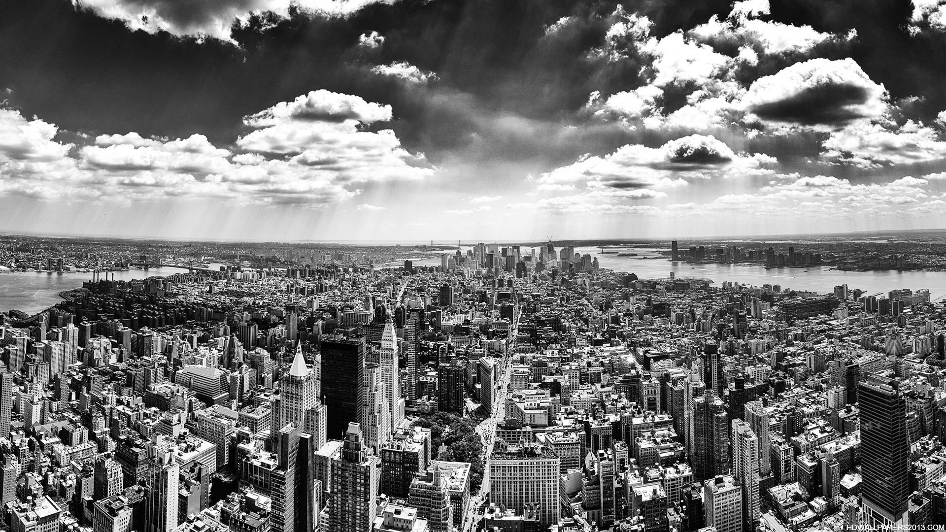 Black and White New York City Wallpaperjpg 1920x1080