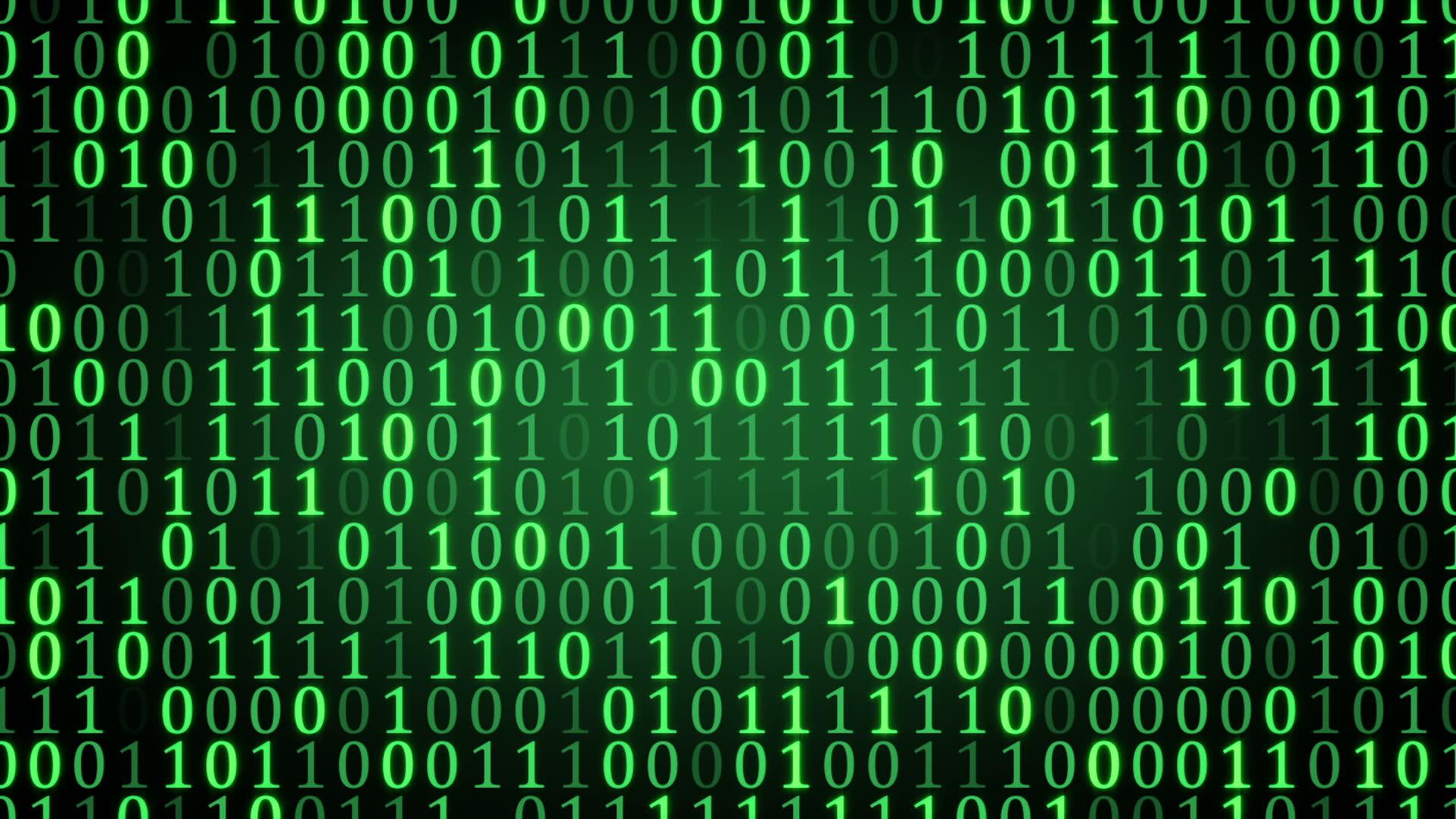 Download Binary Code Background 1920x1080
