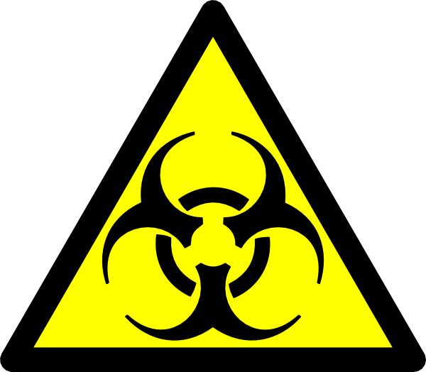 Biohazard Road Symbol Clip Art at Clkercom   vector clip art online 600x524