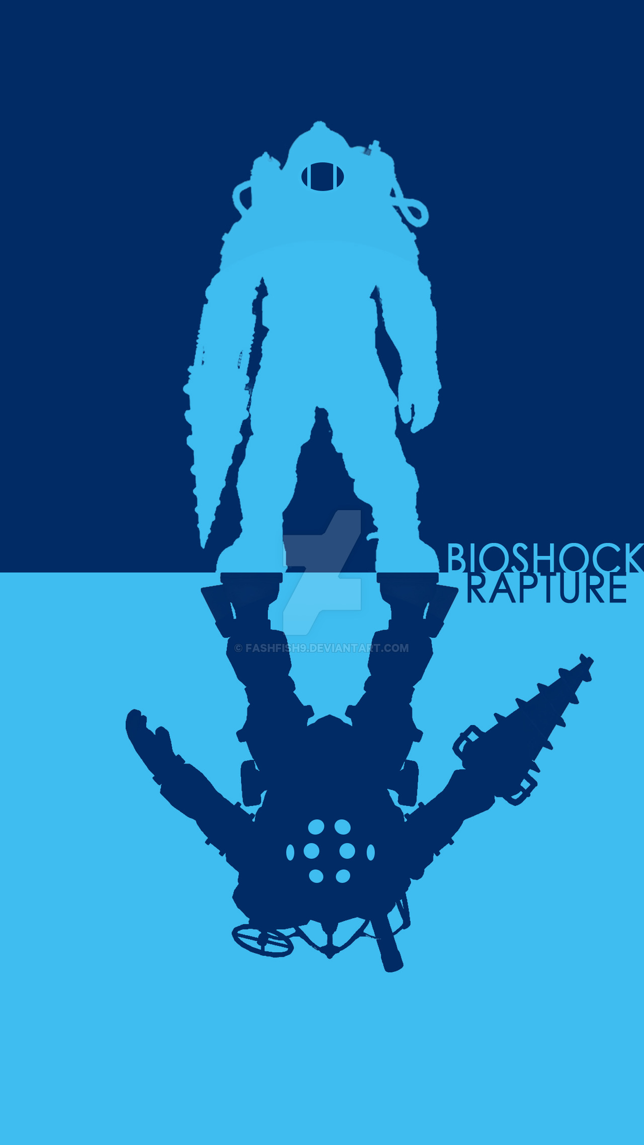 Free Download Bioshock Big Daddy Phone Wallpapersimple By