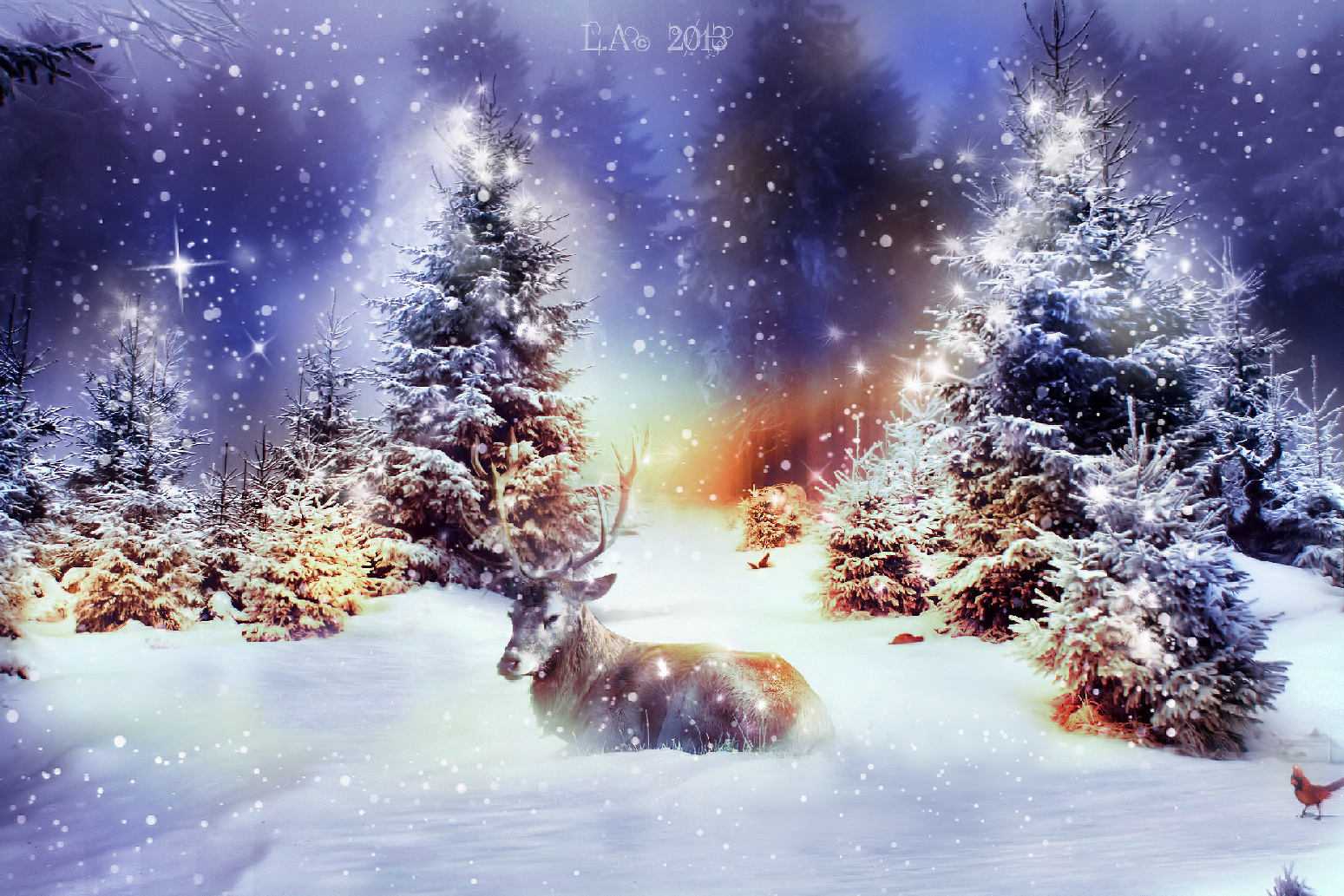 Winter Christmas Wallpaper Mobile at Landscape Monodomo 1549x1033