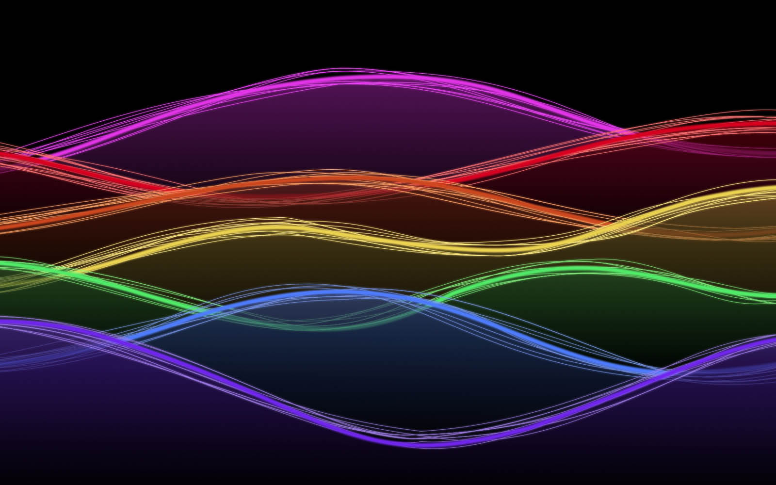 Neon Art Wallpapers Backgrounds PhotosImages and Pictures for 1600x1000