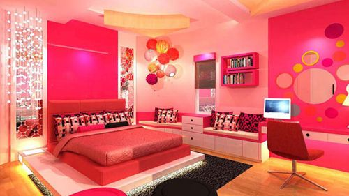 tumblr rooms tumblr rooms for girls cool teenage girl bedrooms - Cool Wallpaper Designs For Bedroom