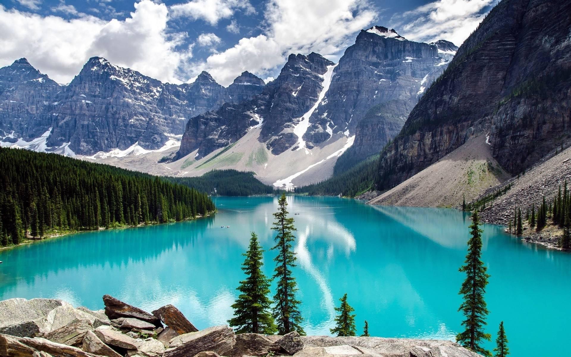Moraine Lake Banff National Park Alberta Canada [1920x1200] x post 1920x1200
