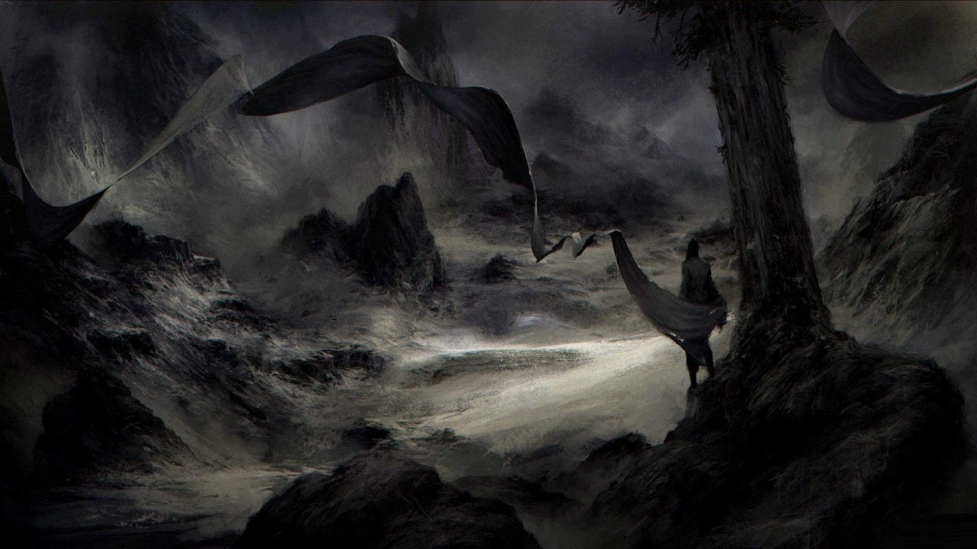 77 Dark Fantasy Wallpaper On Wallpapersafari