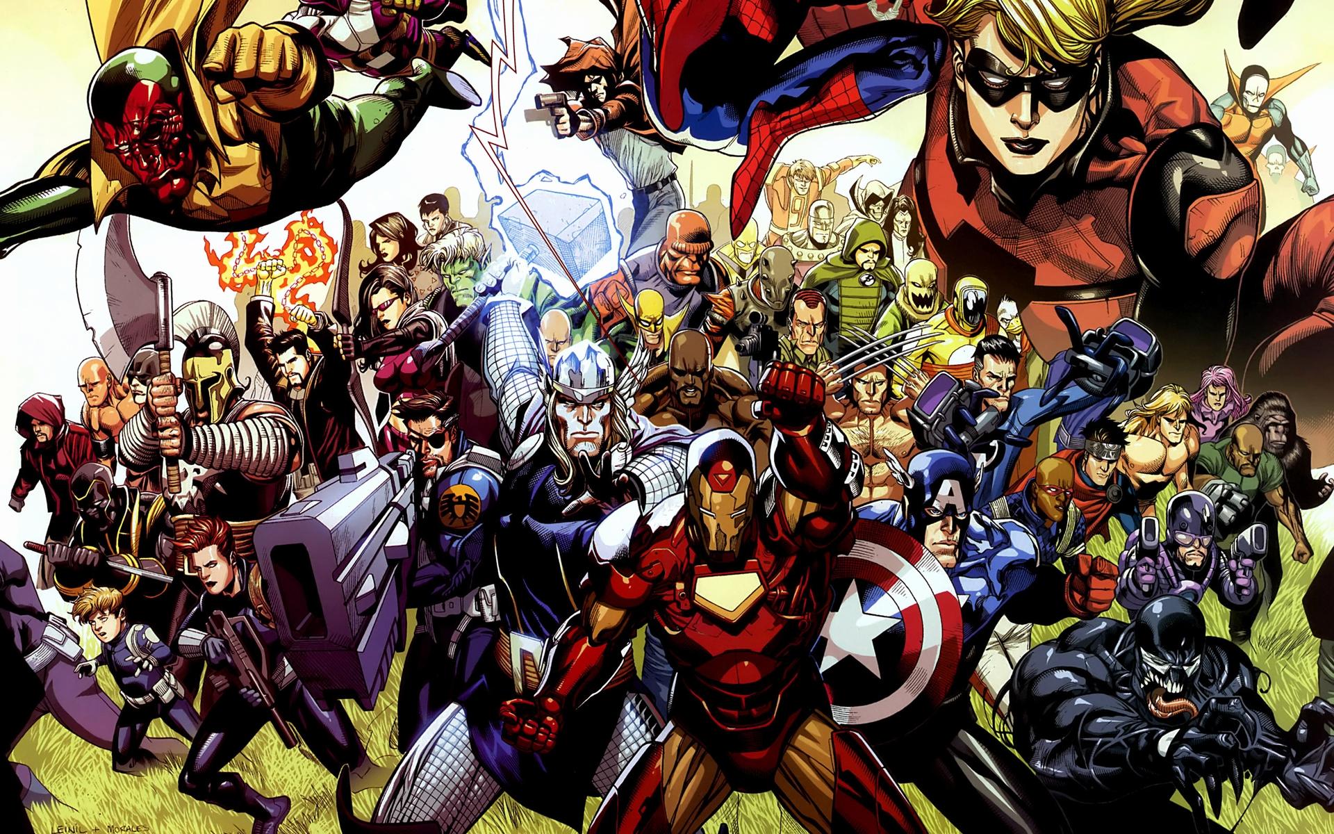 marvel the avengers wallpaper - wallpapersafari