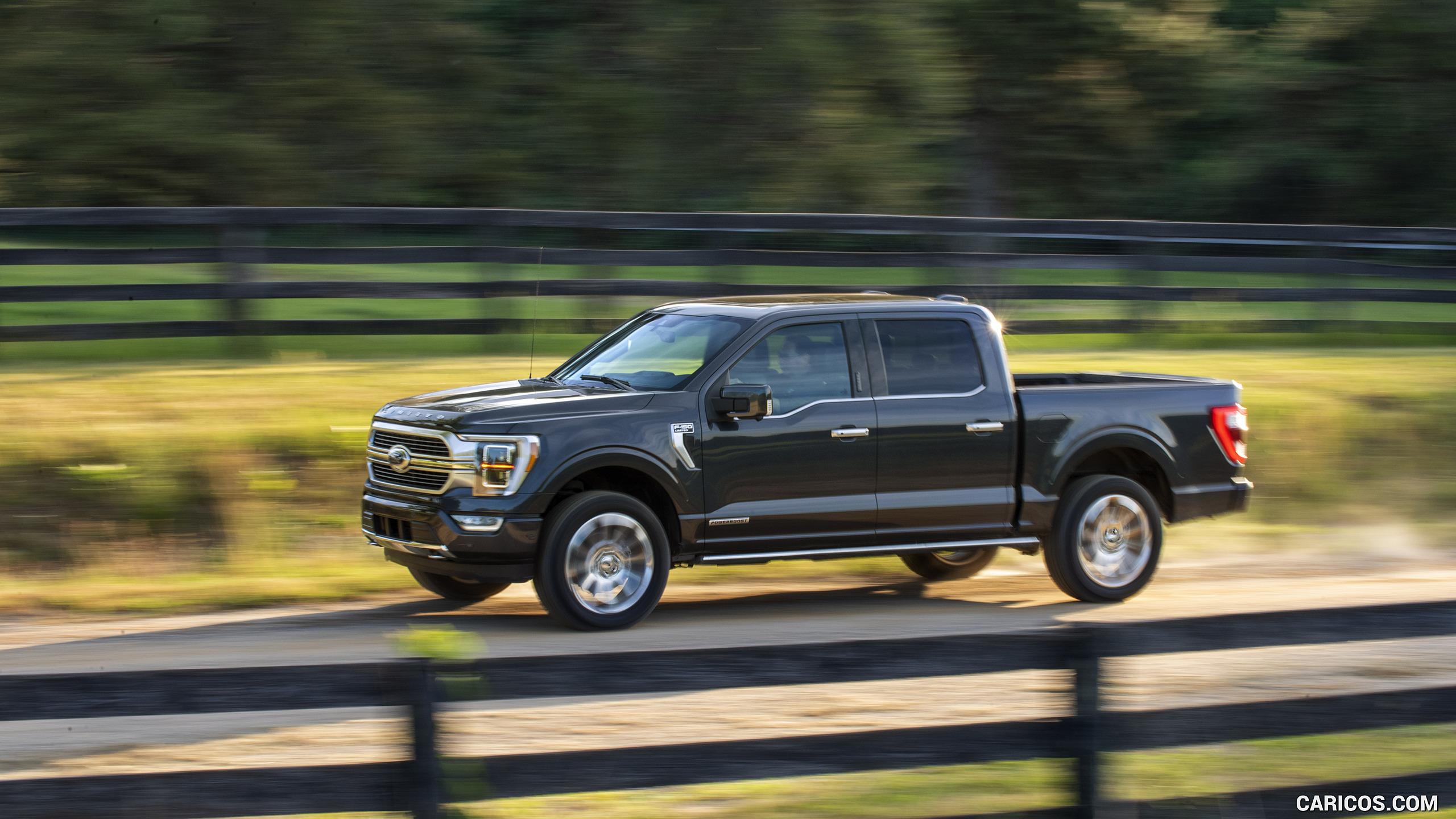 2021 Ford F 150 Hybrid   Front Three Quarter HD Wallpaper 17 2560x1440
