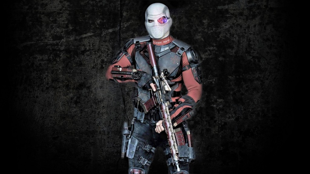 Will Smith as Deadshot in Suicide Squad Movie Wallpaper 1024x576