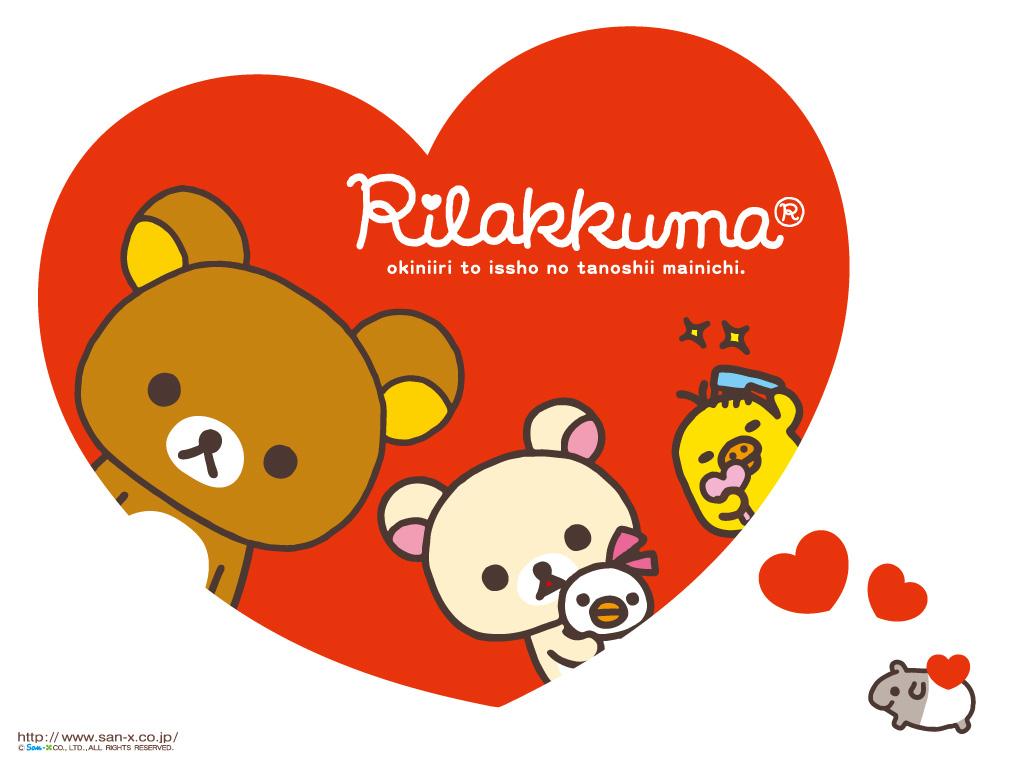 Rilakkuma Valentine Wallpaper Hello Kitty Wallpapers 1024x768