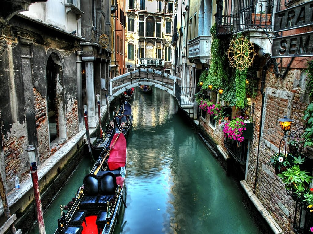 download peartreedesigns The Italy Vanice Canal Wallpapers 1024x768